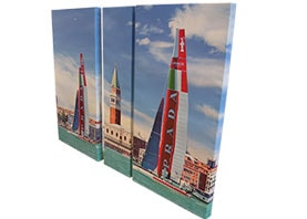 set canvas print frame panel